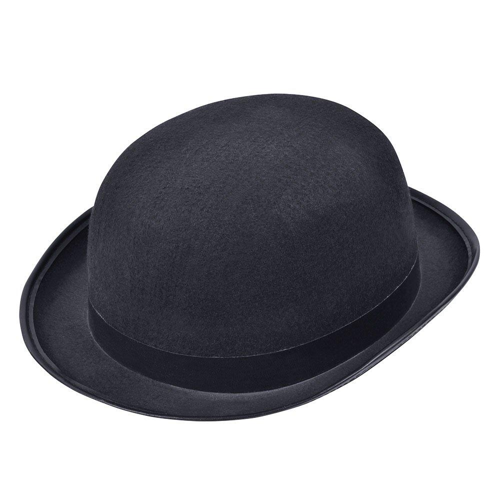Bristol Novelty BH173 Bowler Hat black, One Size
