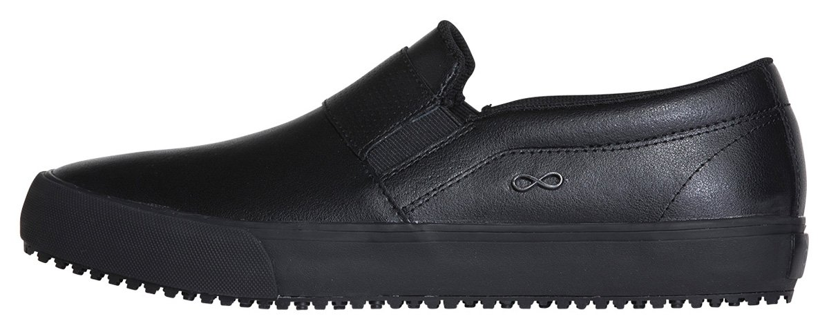 Infinity Footwear Women's Vulcanized Footwear B079FXDF21 9H|Black on Black
