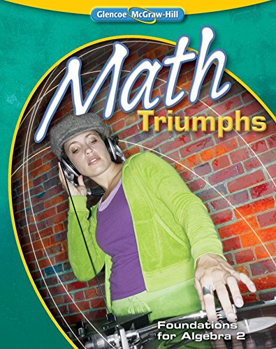 Math Triumphs: Foundations for Algebra 2, Level 3 (MERRILL ALGEBRA 2)