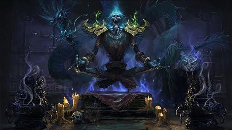 World Of Warcraft Ii Wow Customized 25x14 Inch Silk Print