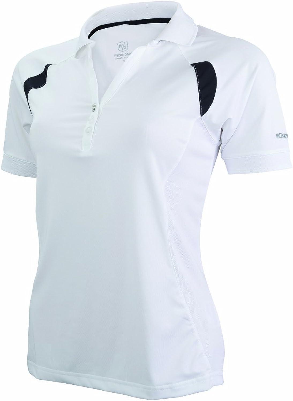 WILSON Staff Textil Golf Lady Performance Polo - Polo para Mujer ...