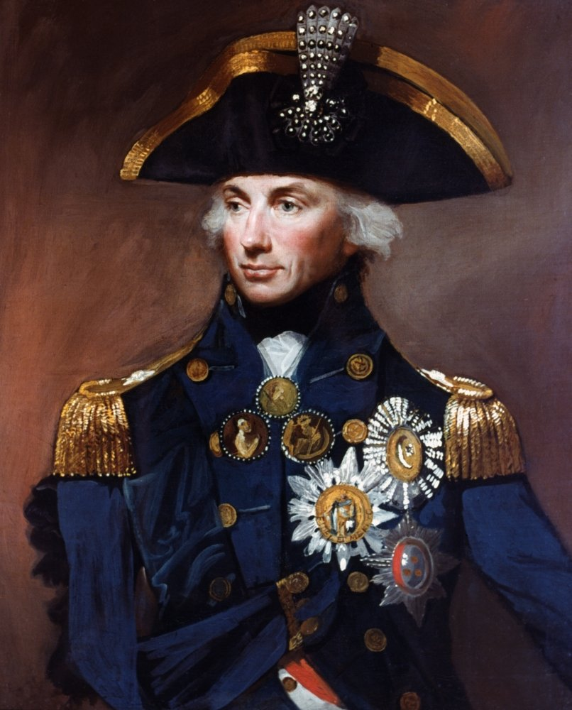 Horatio Nelson (1758-1805) Nbritish Naval Officer As Vice Admiral Of The White Oil On Canvas 1800 By Lemuel Francis Abbott Poster Print by (18 x 24)