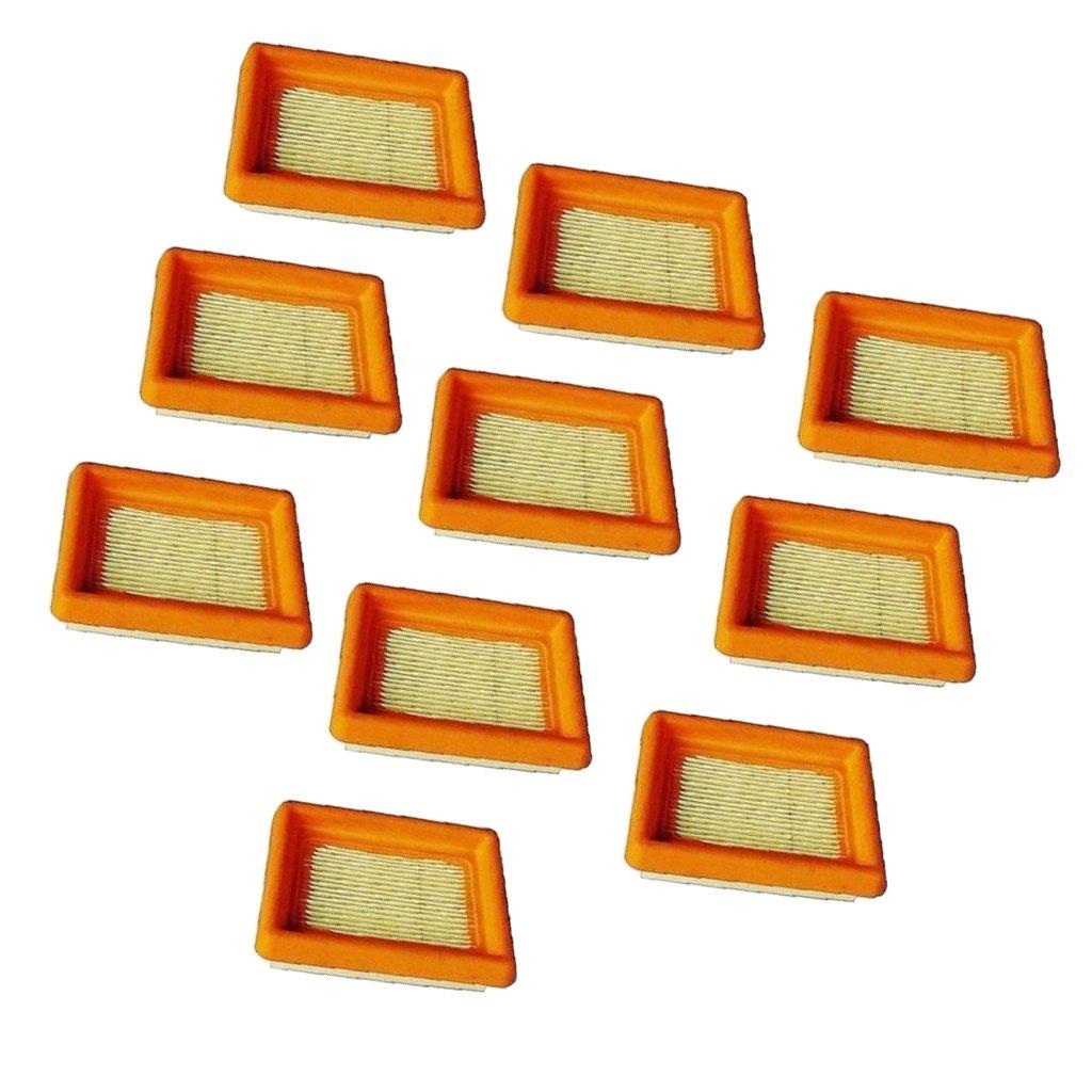 Magideal 10 Pezzi Filtri Aria Kit Per STIHL FS120 FS200 FS250 FS300 FS350 FS400 FS450