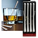 Cork Pops Stainless Steel Stircicles Set of 4