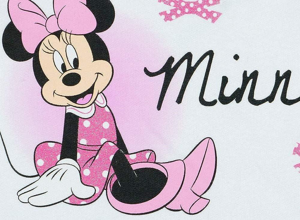 M/ädchen Baby-Strampler Schlafoverall Langarm mit Fu/ß WARM dick gef/üttert Minnie Mouse GR/ÖSSE 56 62 68 74 rosa Weiss Baby-Schlafanzug Neugeborene 0 3 6 9 Monate Geschenkidee Farbe Weiss