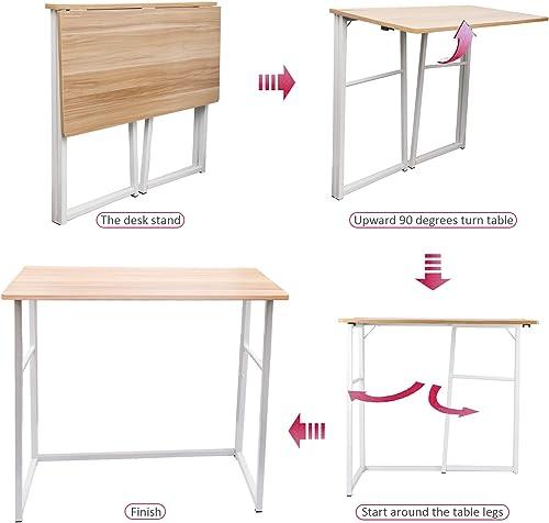 Folding Desk Modern Office Desk