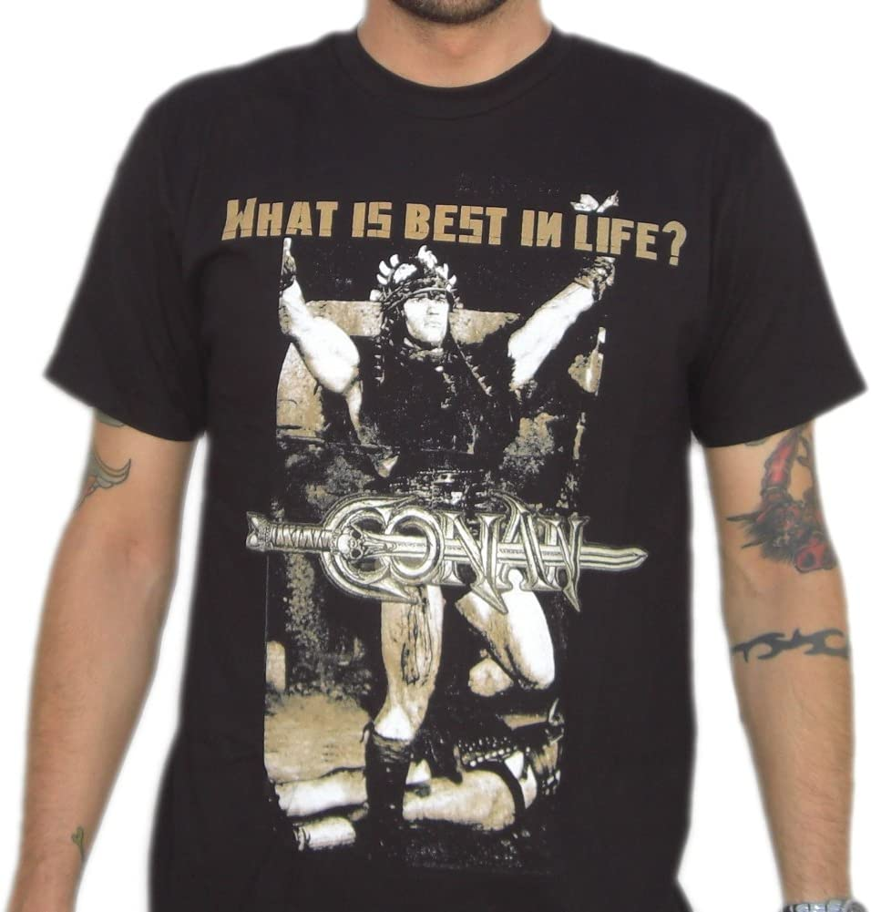 What Is Best In Life Conan The Barbarian T-Shirt-Mens Large ...