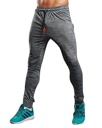 Pantalones para Hombre Largos Deportivos Jogging Pantalón de ...
