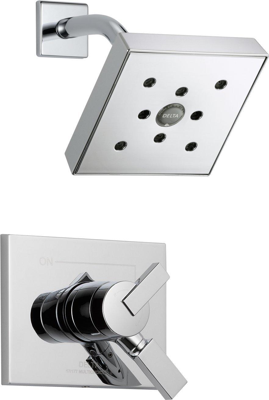 Delta T17253-H2O Vero 17 Series Shower Trim, Chrome - Shower ...