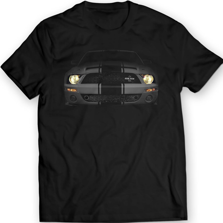 Amazon com mustang shelby gt500 the cobra black t shirt clothing