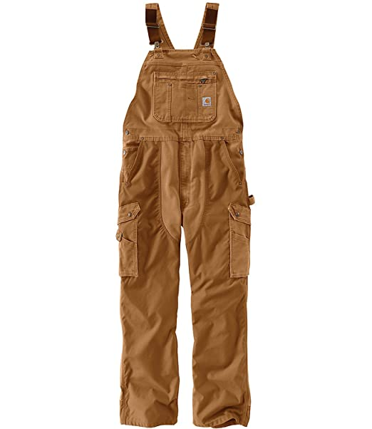 free delivery latest collection good texture Carhartt Men's Double Barrel Bib Overalls