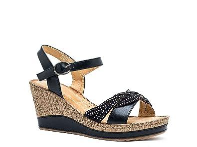 GC Shoes Moxie Embellished Wedge Sandal