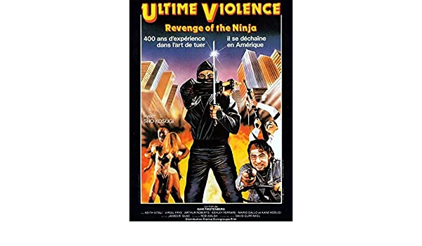 Amazon.com: Movie Posters Revenge of The Ninja - 11 x 17 ...