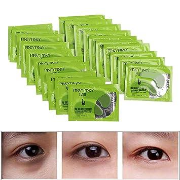 40 protectores de ojos, máscara para los ojos, colágeno para ...