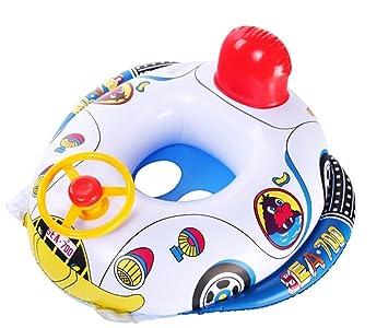 Flotador inflable del asiento de coche de bebé Piscina Barco: Amazon.es: Deportes y aire libre