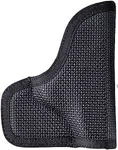 DESANTIS The Nemesis Pocket Holster Ambidextrous Black Kahr PM9,PM40,MK9,MK40 Nylon
