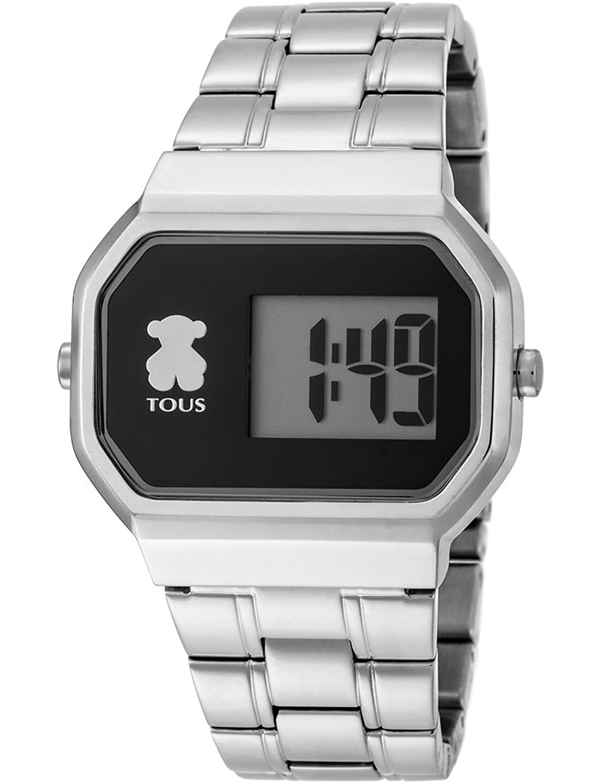 Tous D-Bear Digital-Armbanduhr - Stahl