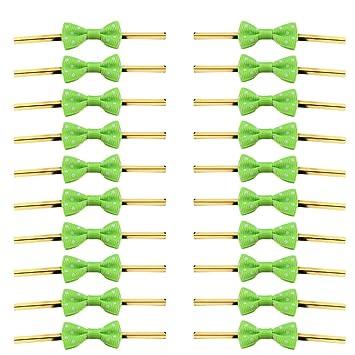 Hemoton 100pcs corbata de lazo para panadería candy lollipop cello ...