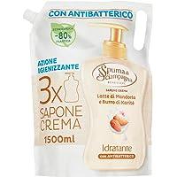 Spuma Di Sciampagna Decoratieve handzeep vloeibare zeep amandelmelk en sheaboter - 1500 ml