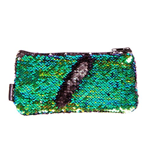 c236f97547 Lab by Fashion Angels Magic Mini Sequin Pouch - Mermaid Iridescent Black