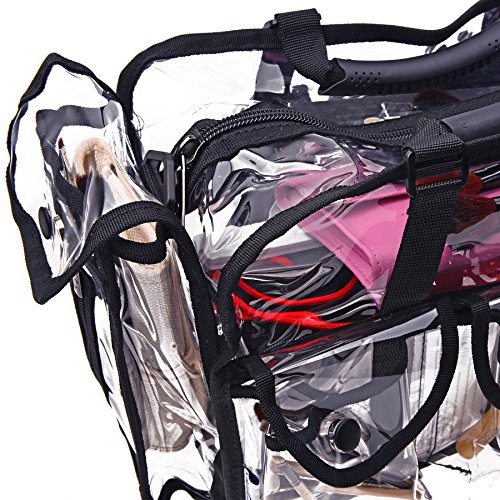 Amazon.com : SHANY Cosmetics Clear Makeup Bag, Pro Mua Round Bag ...
