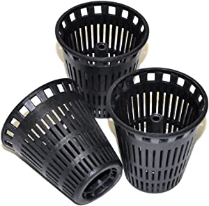 Danco, Inc. 10739 Hair Catcher Baskets, Pack of 3, Black