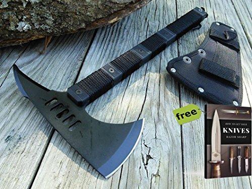 ZombIe Killer TOMAHAWK Black Tactical Hiking 14.25