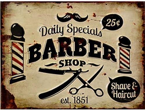barber shop vintage sign