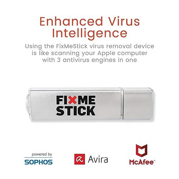 Amazon com: FixMeStick Pro Virus Removal Device for Mac