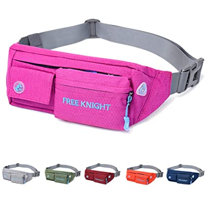 Free Knight Running Waist Bag Unisex Waterproof Cycling Belt Chest Pouch Sports Fitness Hiking Camping Fanny Pack Bum Phone Bag Camping & Hiking