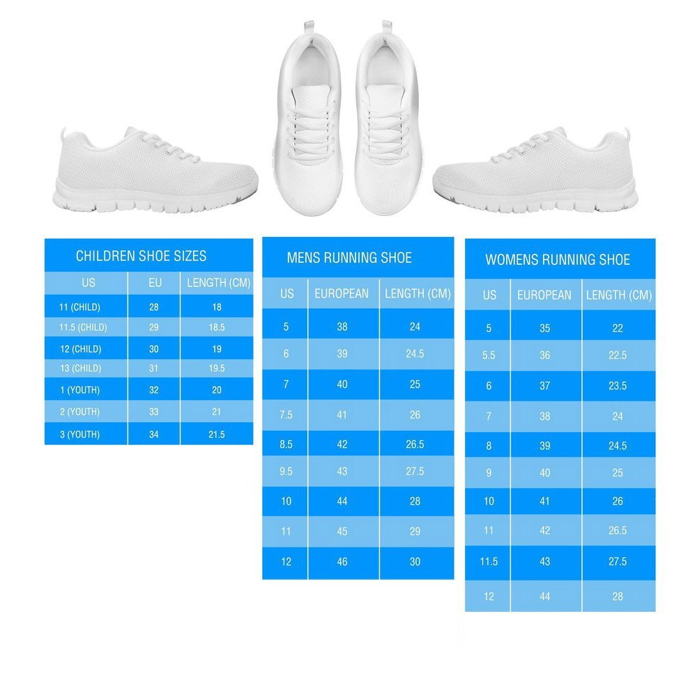 Casual Comfortable Sneakers Running Shoes TheBreedMall Australian Cattle Dog Pattern Print Sneakers Women