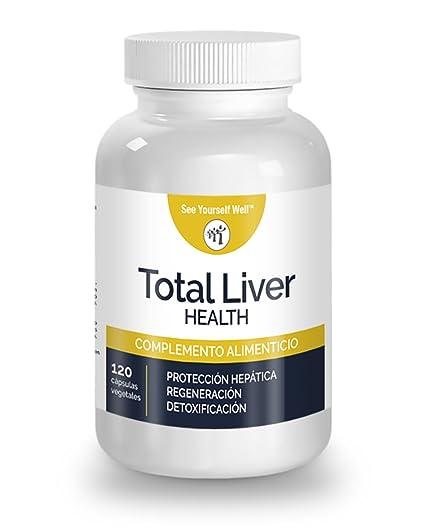 Total Liver Health SYW (120 cápsulas) ayuda a reducir la hepatotoxicidad y el hígado