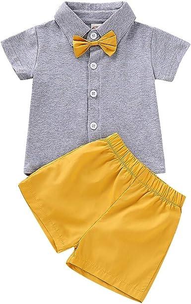 Amazon.com: Conjunto de ropa para recién nacido, 2 piezas ...