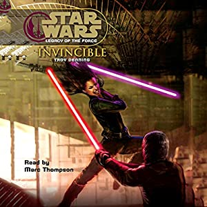 Star Wars: Legacy of the Force #9: Invincible Audiobook