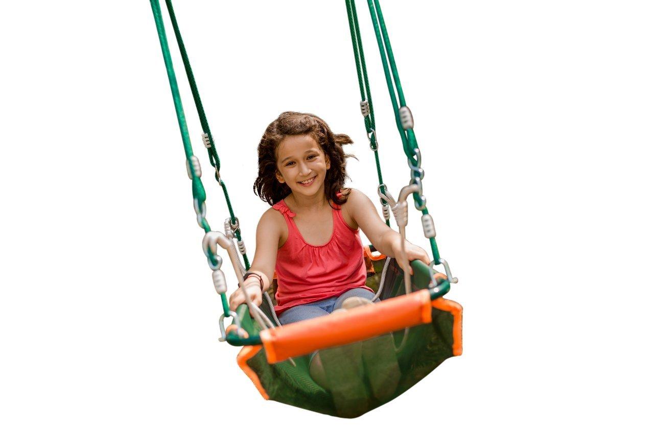 Large Pirate Boat Swing for Children Tree Swing by Warrior Swings