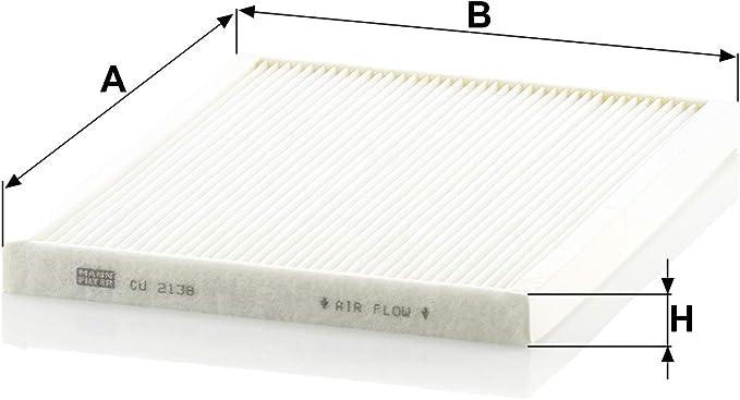 Original Mann Filter Innenraumfilter Cu 2138 Für Pkw Auto