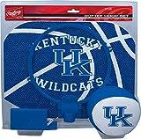 NCAA Kentucky Wildcats Kids Slam Dunk Hoop Set, Blue, Small