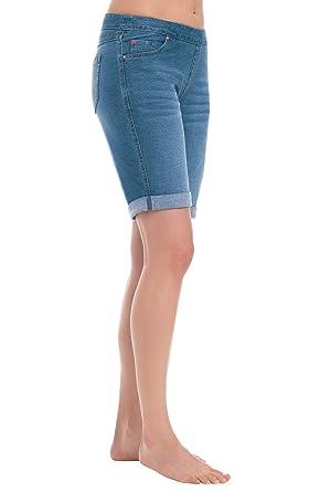c2d3c2409 PajamaJeans Bermuda Shorts for Women - Denim Shorts for Women, Bermuda, XS  / 0