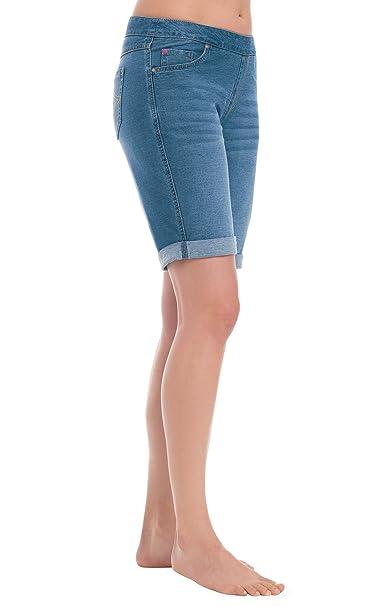 Amazon.com: PajamaJeans Bermuda Shorts para Mujer ...