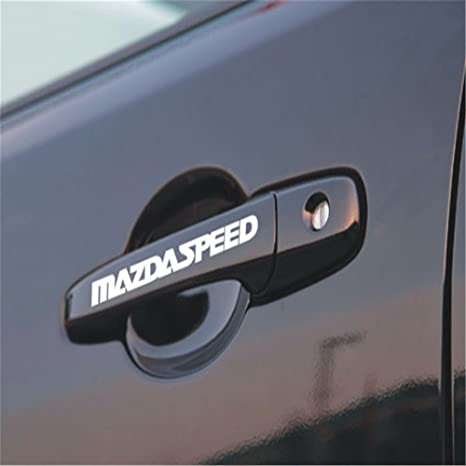 Amazon.com: 4 pegatinas para manija de puerta de coche ...