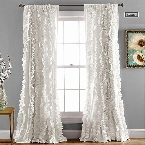 Lush Decor Belle Curtain 2 Panels
