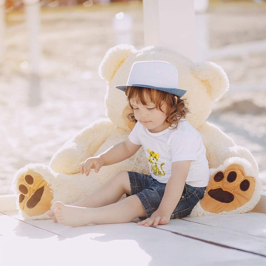 Custom Toddler T-Shirt Little Cheetahs Safari Cotton Boy /& Girl Clothes