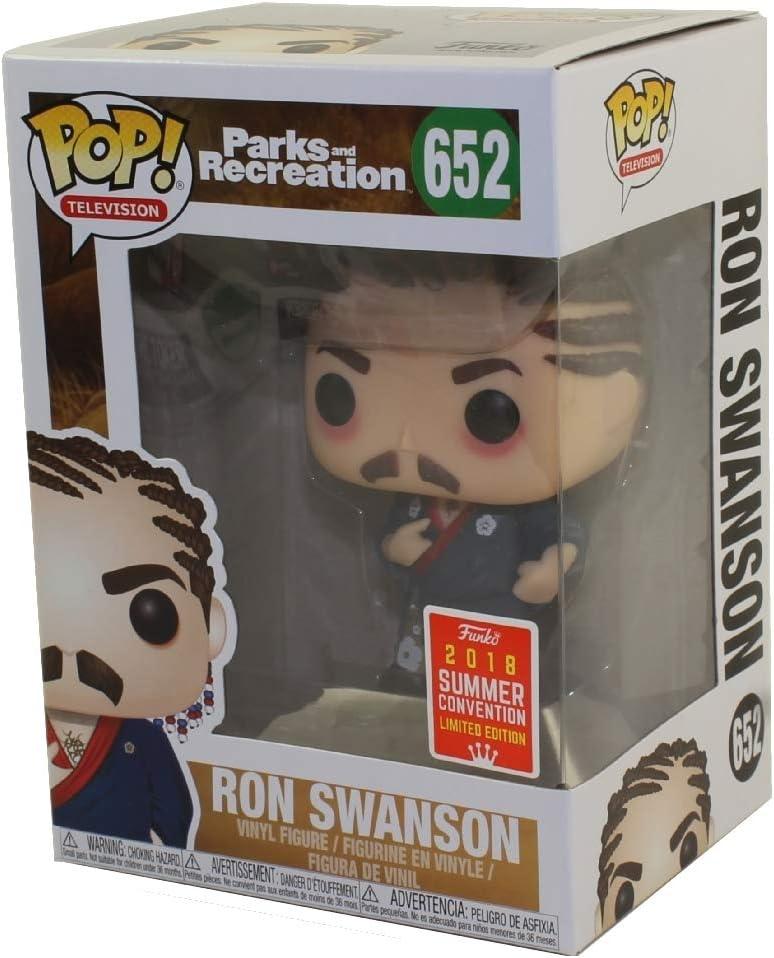 FunKo Pop! Ron Swanson # 652 Parks & Recreation 2018 ...