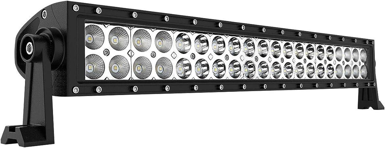 Ausi 21 5 Inch 120w Led Arbeitsscheinwerfer Weiß 12v 24v 11400lm Flutlicht Reflektor Work Light Bar Scheinwerfer Arbeitslicht Offroad Suv Utv Atv Arbeitslampe Traktor Bagger Lkw Kfz Auto