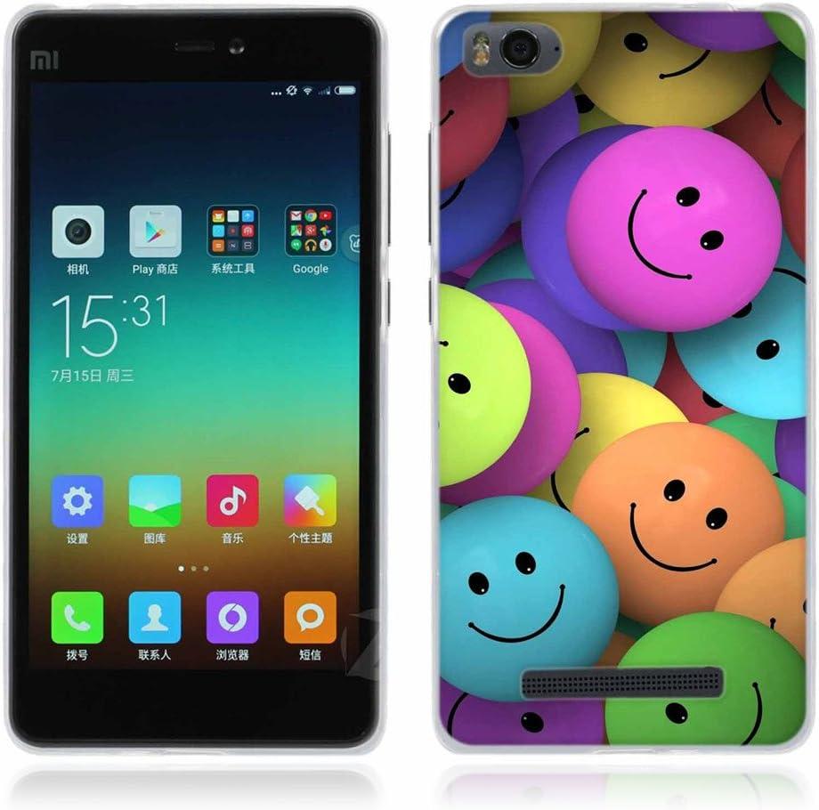 FUBAODA para Xiaomi mi4c / mi4i Funda Serie de la Pintura, [Linda] Gel de Silicona TPU, Amortigua los Golpes, Funda Protectora para para Xiaomi mi4c / mi4i