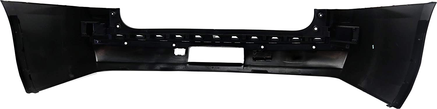 CAPA Rear Bumper Cover Compatible with CHEVROLET SUBURBAN 2015-2016 Primed with Parking Aid Sensor Holes