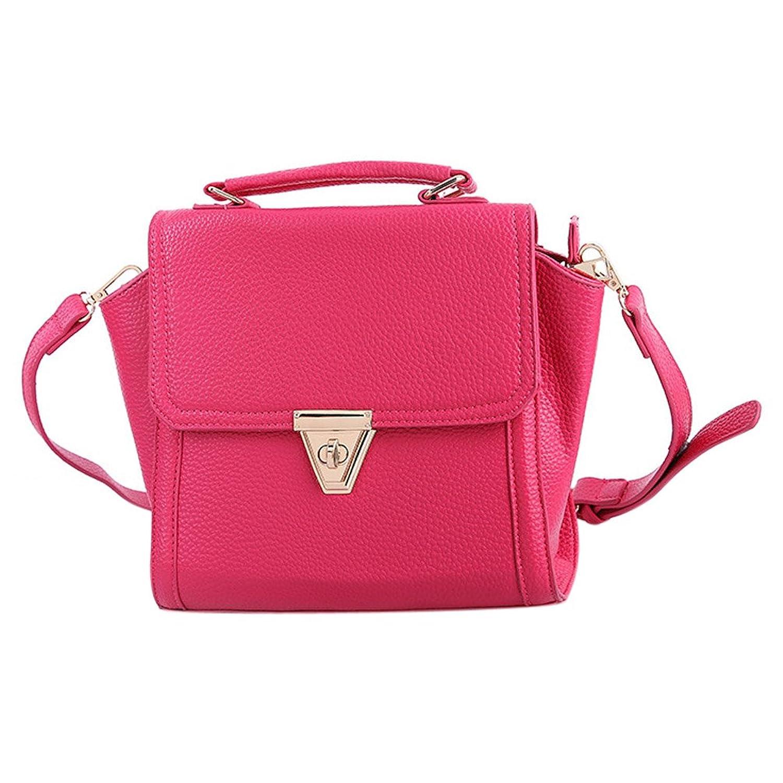 Little Great Women's Litchi Grain Single Shoulder Leather Bag Handbag