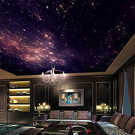 Wallpaper Experten Custom Murals 3d Star Nebula Night Sky Wall