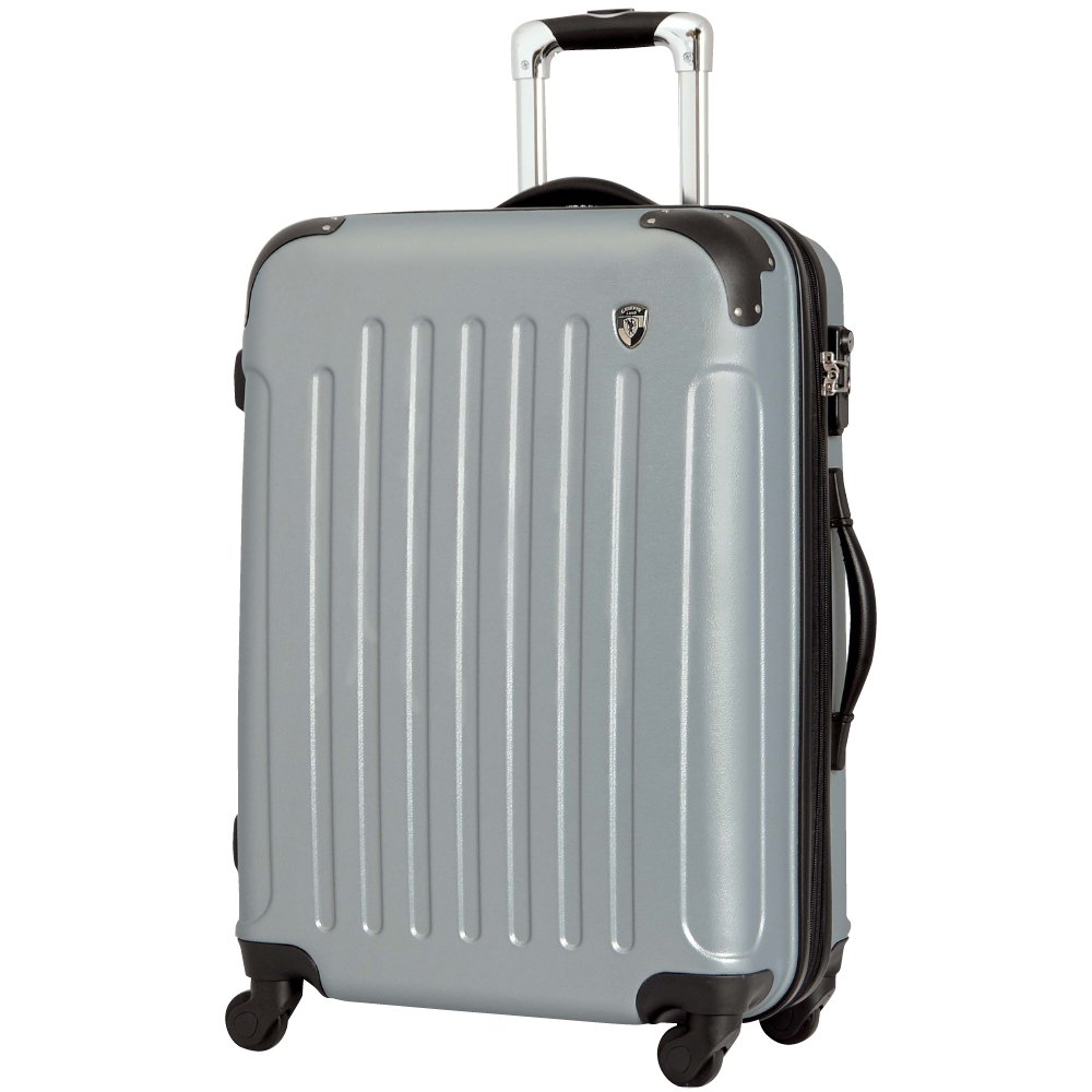[グリフィンランド]_Griffinland TSAロック搭載 スーツケース 超軽量 マット加工 newFK10371 ファスナー開閉式 B078B6WG7W S(小)型 +【名前刻印】|ライトシルバー ライトシルバー S(小)型 +【名前刻印】