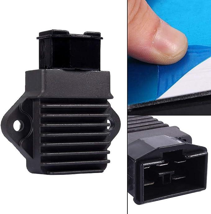 Spannungsregler Gleichrichter Schwarz Motorrad 12v Spannungsstabilisator Gleichrichter Cbr250 Cbr400 Gleichrichter Auto